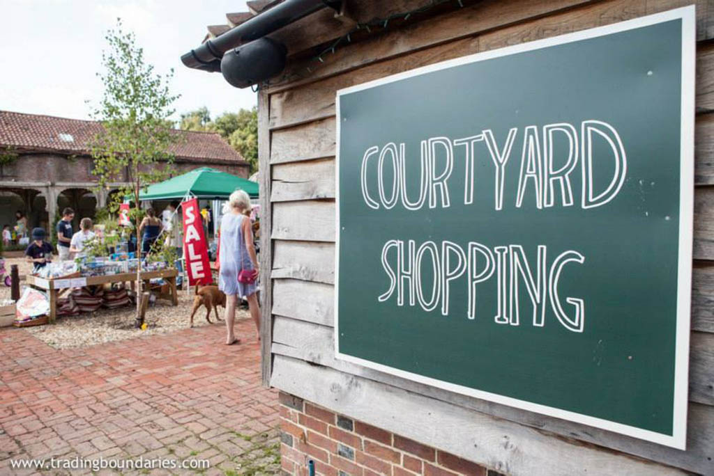 courtyard family shopping sussex